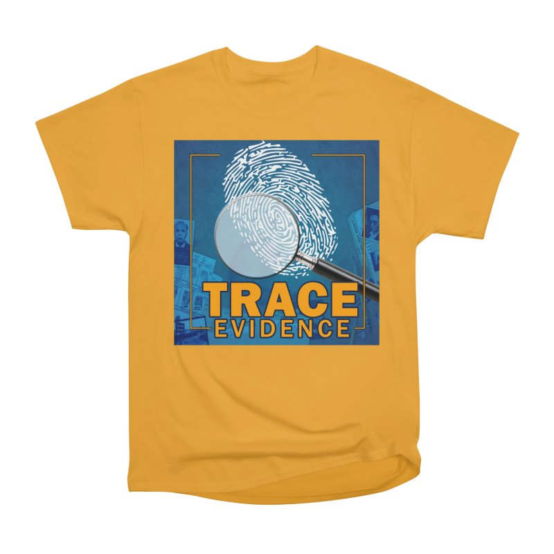 Old School Men's Heavyweight T-Shirt by Trace Evidence - A True Crime Podcast