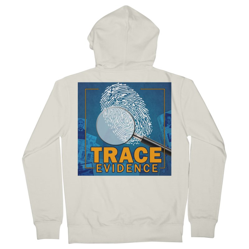 Old School Women's French Terry Zip-Up Hoody by Trace Evidence - A True Crime Podcast