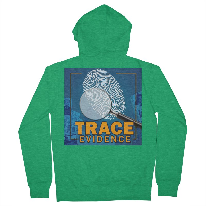 Old School Men's Zip-Up Hoody by Trace Evidence - A True Crime Podcast