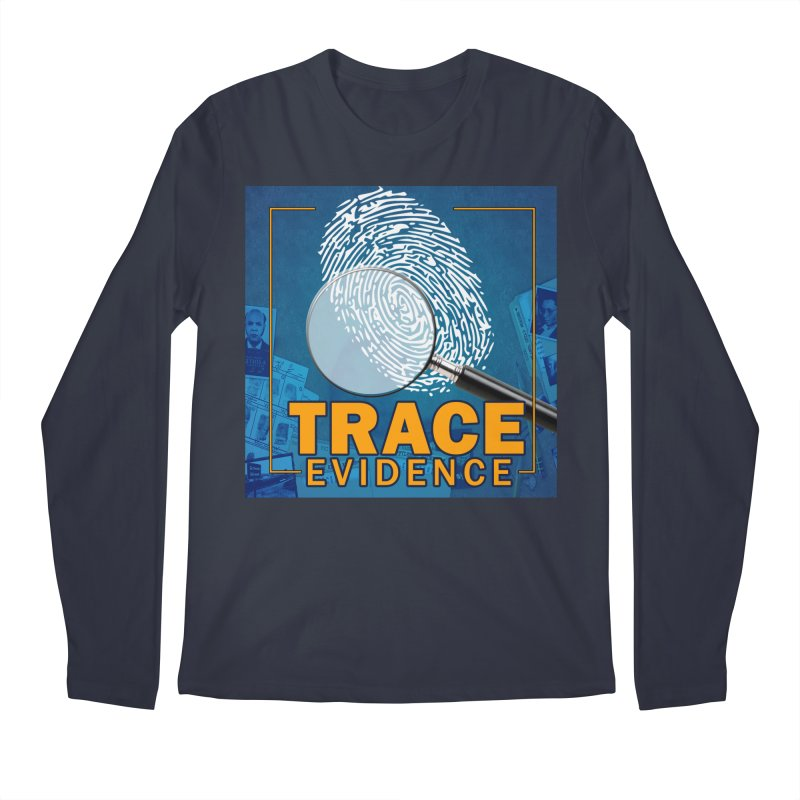 Old School Men's Regular Longsleeve T-Shirt by Trace Evidence - A True Crime Podcast