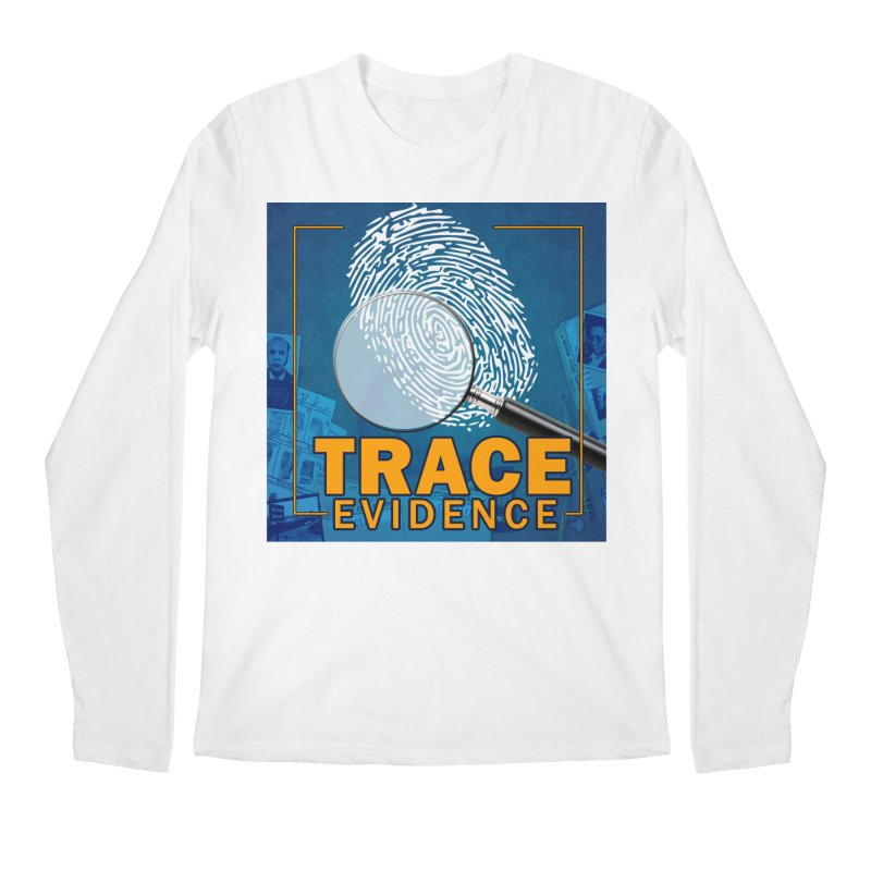 Old School Men's Longsleeve T-Shirt by Trace Evidence - A True Crime Podcast