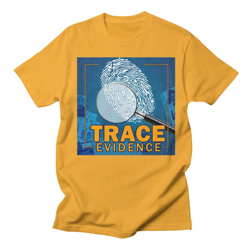 Old School Men's Regular T-Shirt by Trace Evidence - A True Crime Podcast