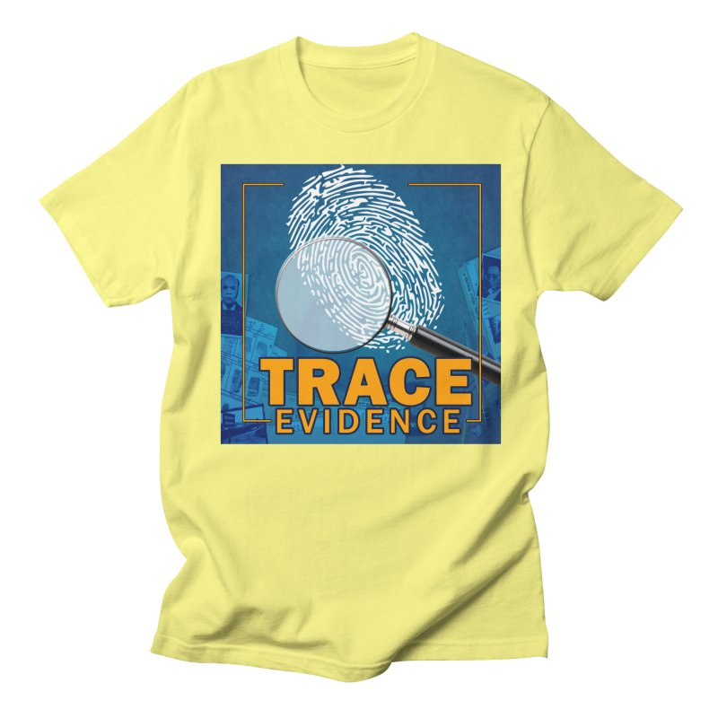 Old School Women's Regular Unisex T-Shirt by Trace Evidence - A True Crime Podcast