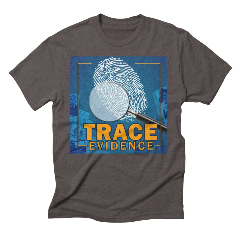Old School Men's Triblend T-Shirt by Trace Evidence - A True Crime Podcast
