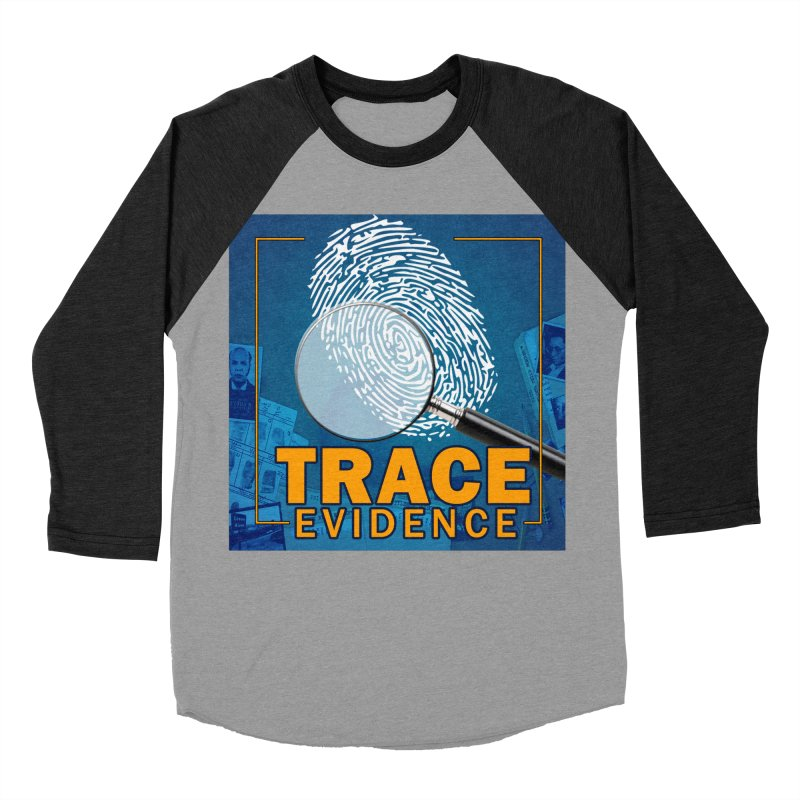 Old School Women's Baseball Triblend Longsleeve T-Shirt by Trace Evidence - A True Crime Podcast