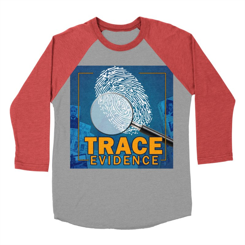 Old School Men's Baseball Triblend Longsleeve T-Shirt by Trace Evidence - A True Crime Podcast
