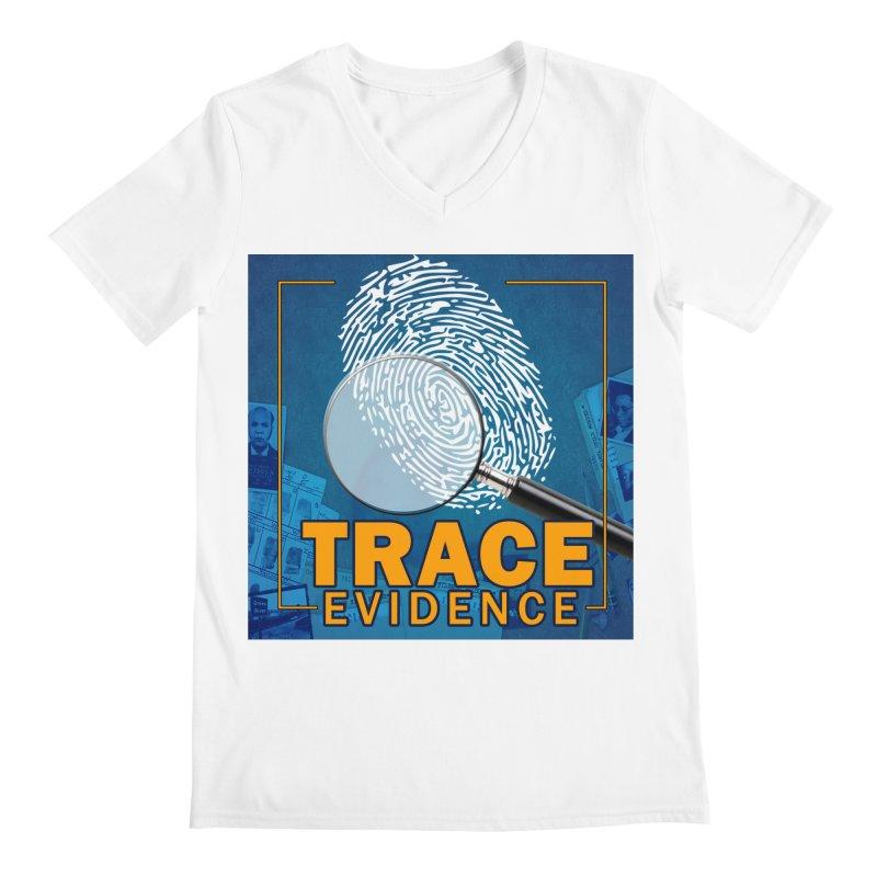 Old School Men's V-Neck by Trace Evidence - A True Crime Podcast