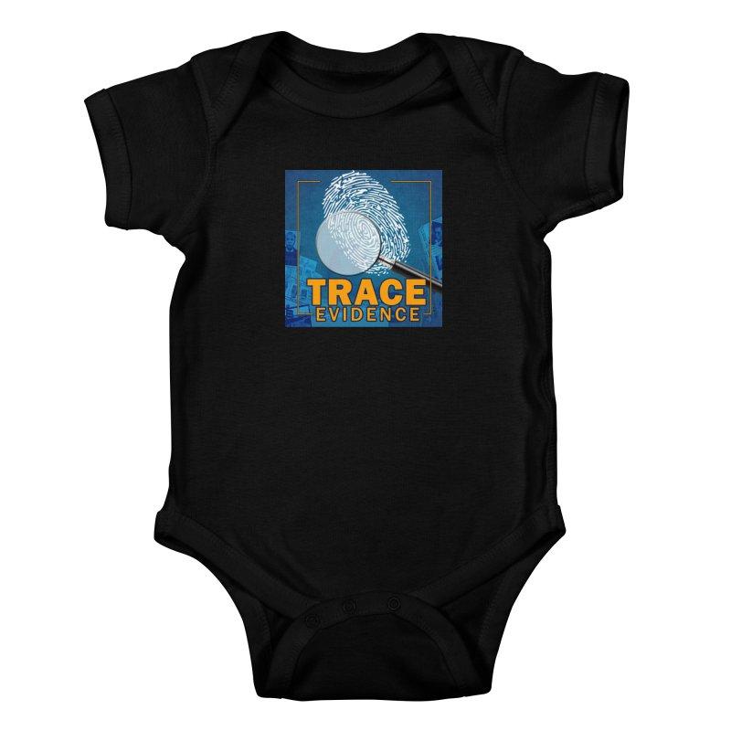 Old School Kids Baby Bodysuit by Trace Evidence - A True Crime Podcast