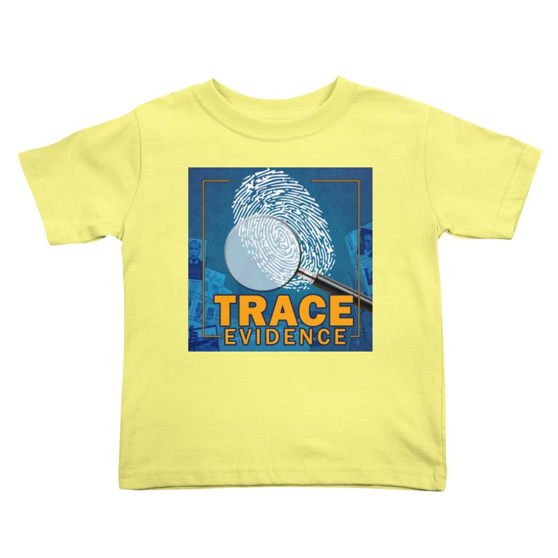 Old School Kids Toddler T-Shirt by Trace Evidence - A True Crime Podcast