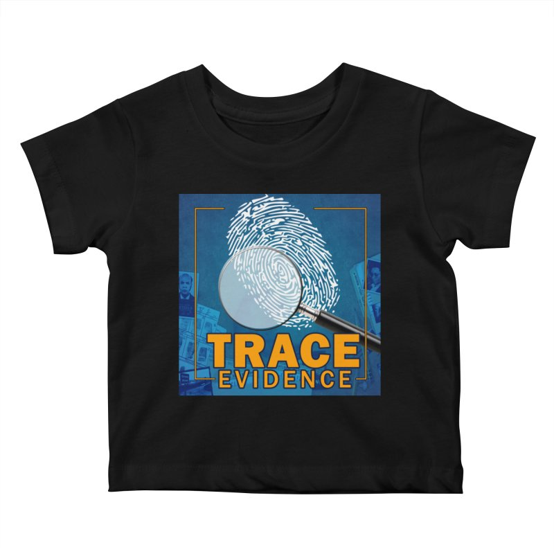 Old School Kids Baby T-Shirt by Trace Evidence - A True Crime Podcast