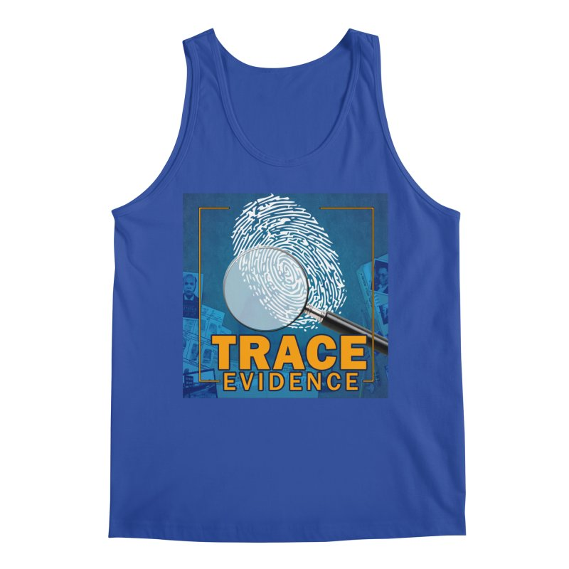 Old School Men's Tank by Trace Evidence - A True Crime Podcast