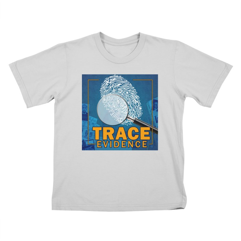 Old School Kids T-Shirt by Trace Evidence - A True Crime Podcast