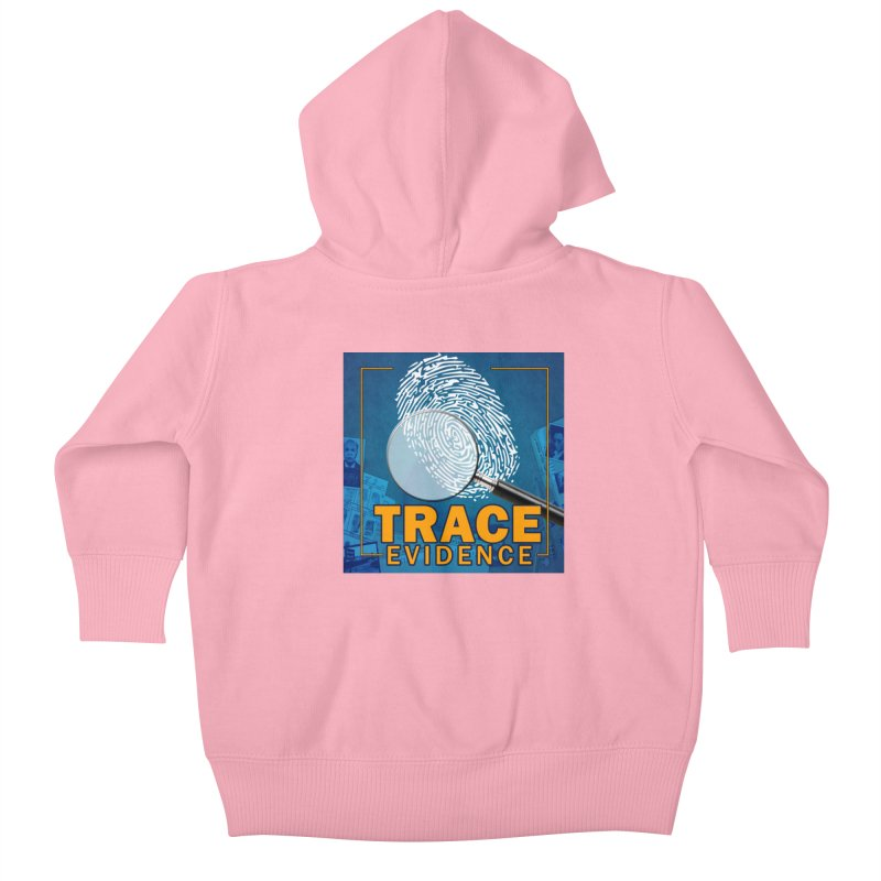 Old School Kids Baby Zip-Up Hoody by Trace Evidence - A True Crime Podcast