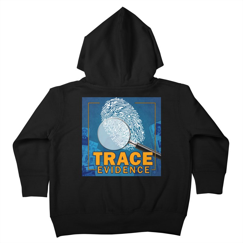 Old School Kids Toddler Zip-Up Hoody by Trace Evidence - A True Crime Podcast