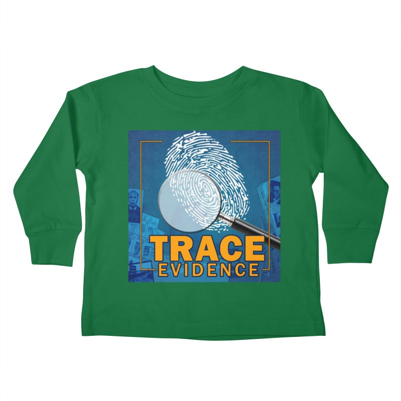 Old School Kids Toddler Longsleeve T-Shirt by Trace Evidence - A True Crime Podcast