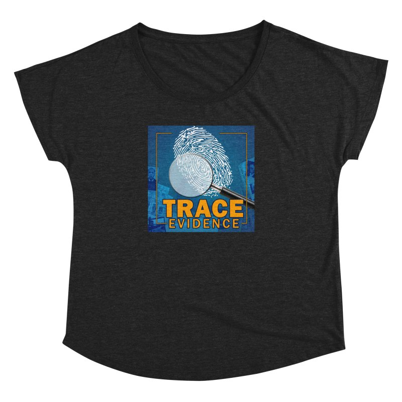 Old School Women's Dolman Scoop Neck by Trace Evidence - A True Crime Podcast