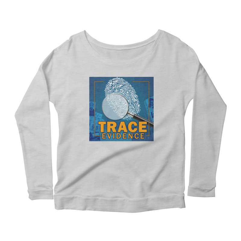 Old School Women's Scoop Neck Longsleeve T-Shirt by Trace Evidence - A True Crime Podcast