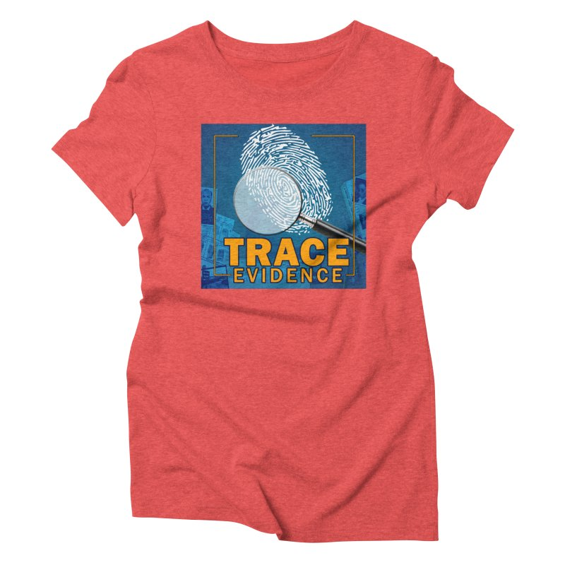 Old School Women's Triblend T-Shirt by Trace Evidence - A True Crime Podcast