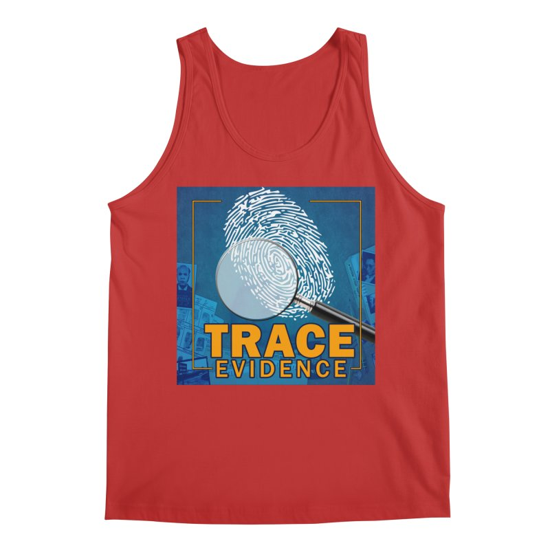 Old School Men's Regular Tank by Trace Evidence - A True Crime Podcast