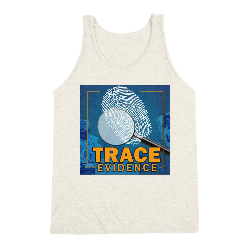 Old School Men's Triblend Tank by Trace Evidence - A True Crime Podcast