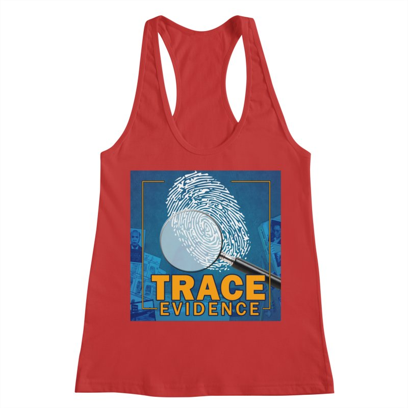 Old School Women's Racerback Tank by Trace Evidence - A True Crime Podcast
