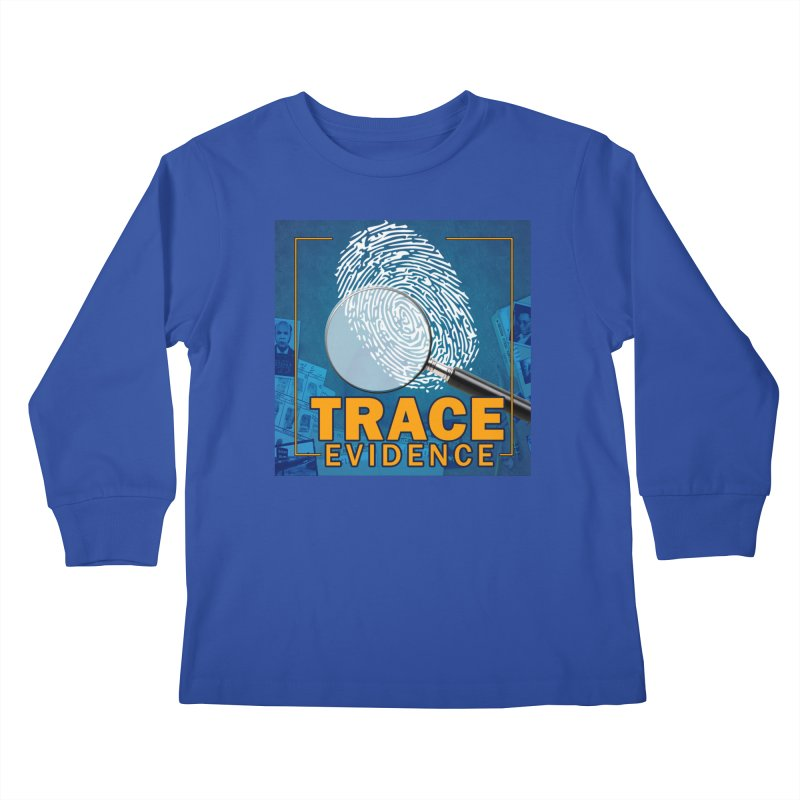 Old School Kids Longsleeve T-Shirt by Trace Evidence - A True Crime Podcast