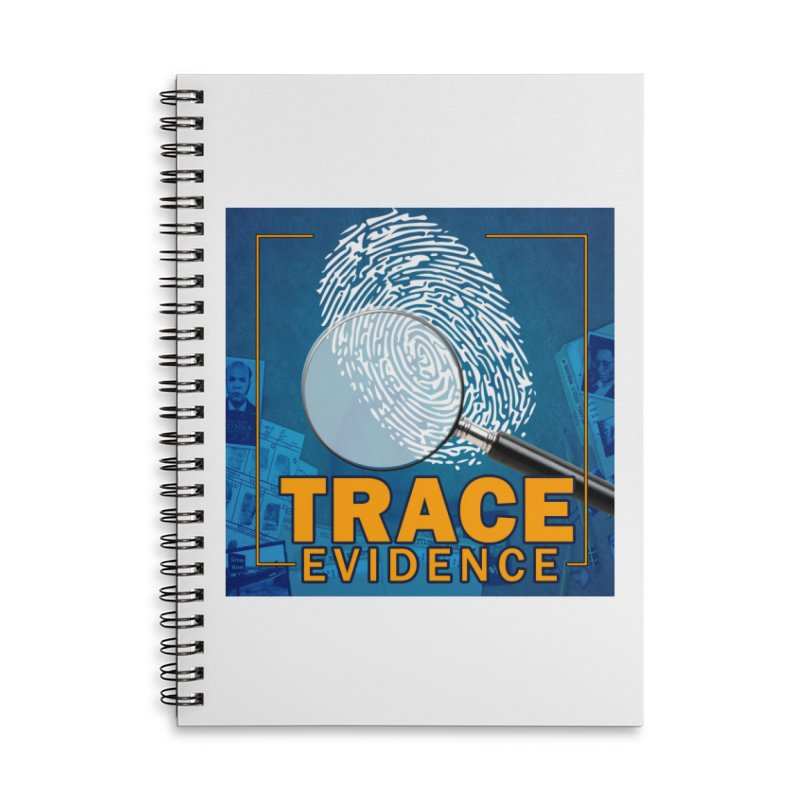 Old School Accessories Notebook by Trace Evidence - A True Crime Podcast