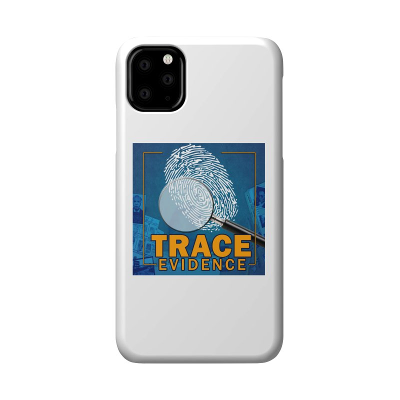 Old School Accessories Phone Case by Trace Evidence - A True Crime Podcast