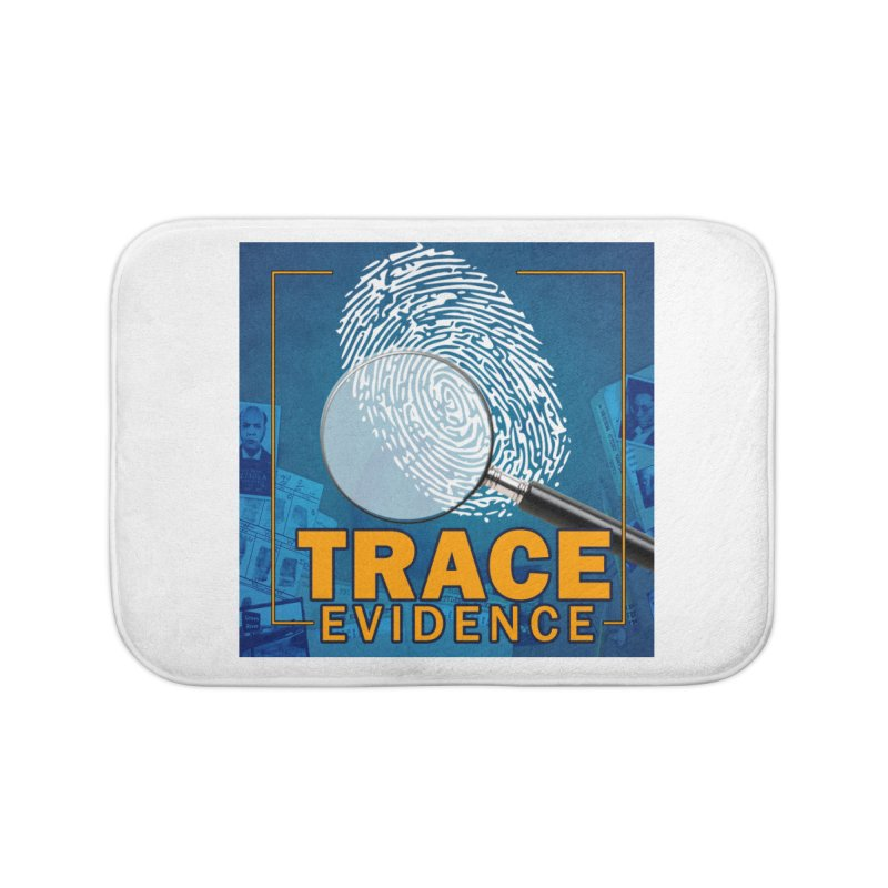 Old School Home Bath Mat by Trace Evidence - A True Crime Podcast