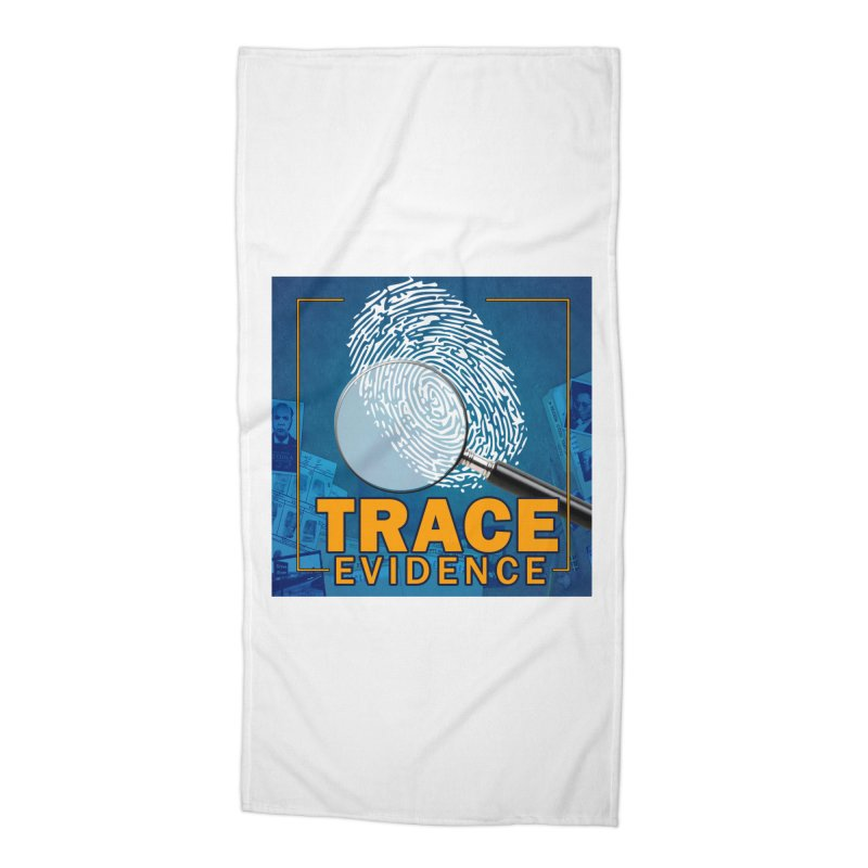 Old School Accessories Beach Towel by Trace Evidence - A True Crime Podcast