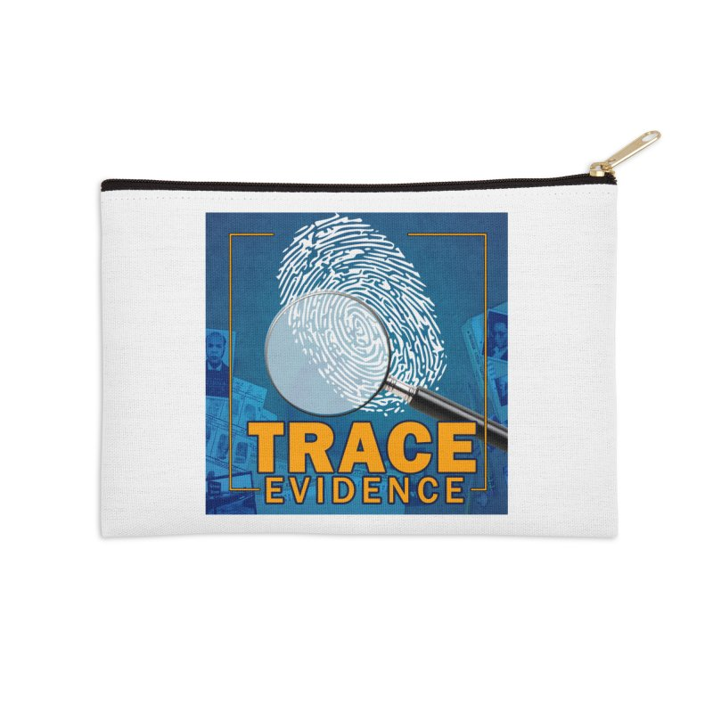 Old School Accessories Zip Pouch by Trace Evidence - A True Crime Podcast