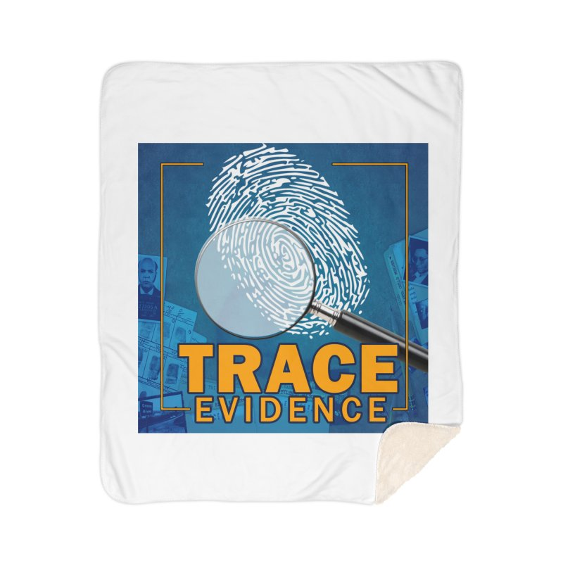 Old School Home Sherpa Blanket Blanket by Trace Evidence - A True Crime Podcast