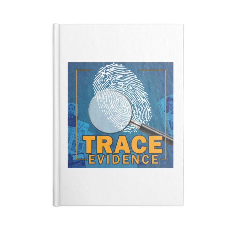Old School Accessories Lined Journal Notebook by Trace Evidence - A True Crime Podcast