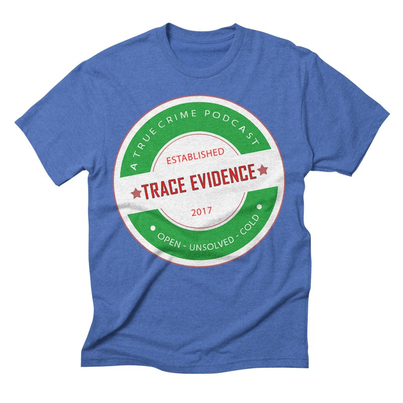 Established Men's T-Shirt by Trace Evidence - A True Crime Podcast
