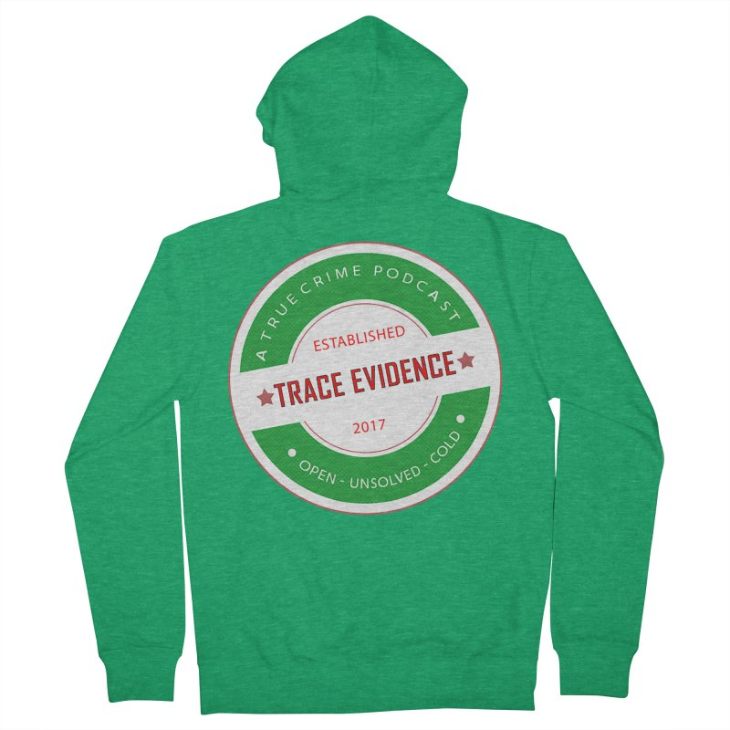 Established Men's Zip-Up Hoody by Trace Evidence - A True Crime Podcast