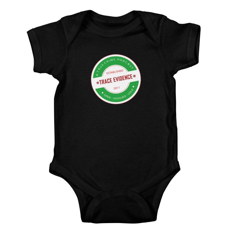 Established Kids Baby Bodysuit by Trace Evidence - A True Crime Podcast