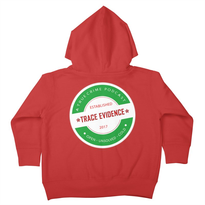 Established Kids Toddler Zip-Up Hoody by Trace Evidence - A True Crime Podcast