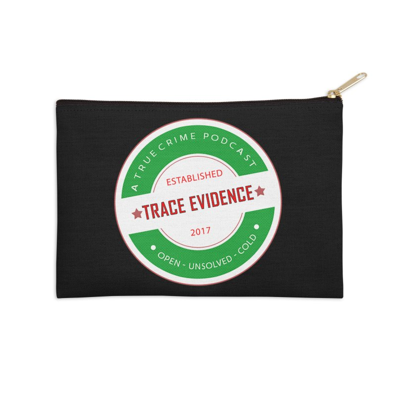 Established Accessories Zip Pouch by Trace Evidence - A True Crime Podcast