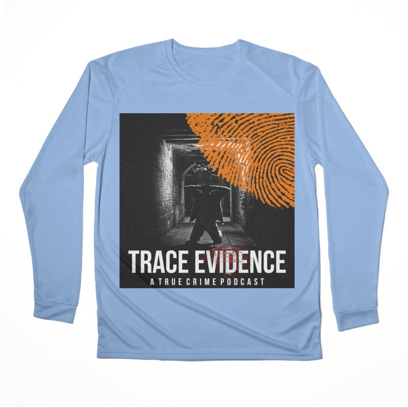 Trace Evidence in Orange Men's Longsleeve T-Shirt by Trace Evidence - A True Crime Podcast