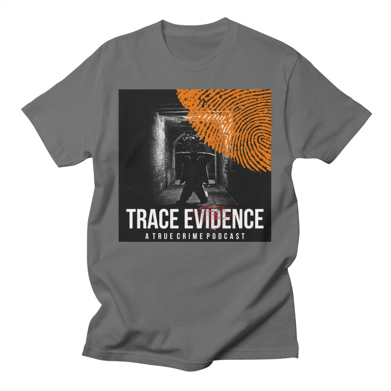 Trace Evidence in Orange Men's T-Shirt by Trace Evidence - A True Crime Podcast