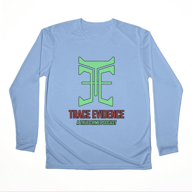 Hyper Logo Men's Longsleeve T-Shirt by Trace Evidence - A True Crime Podcast