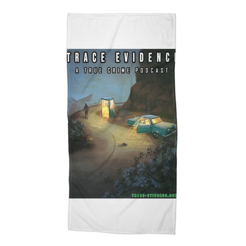 Lost Highway Accessories Beach Towel by Trace Evidence - A True Crime Podcast