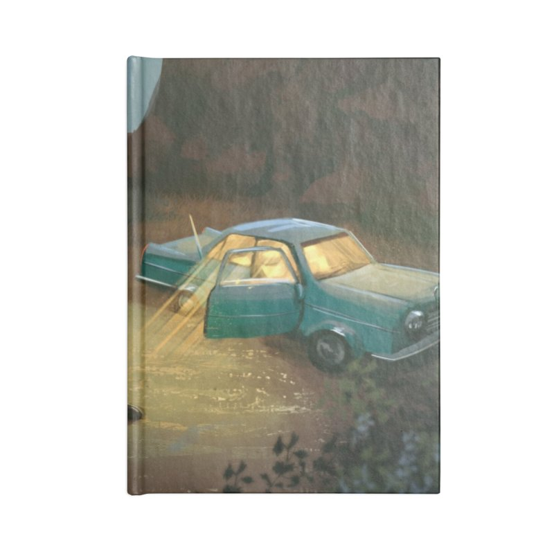Lost Highway Accessories Notebook by Trace Evidence - A True Crime Podcast