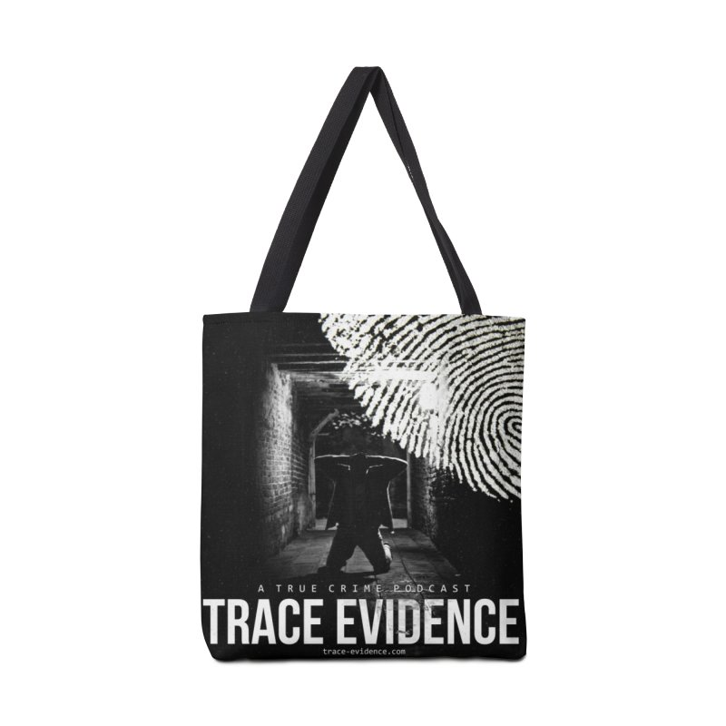 Trace Evidence Logo Accessories Tote Bag Bag by Trace Evidence - A True Crime Podcast
