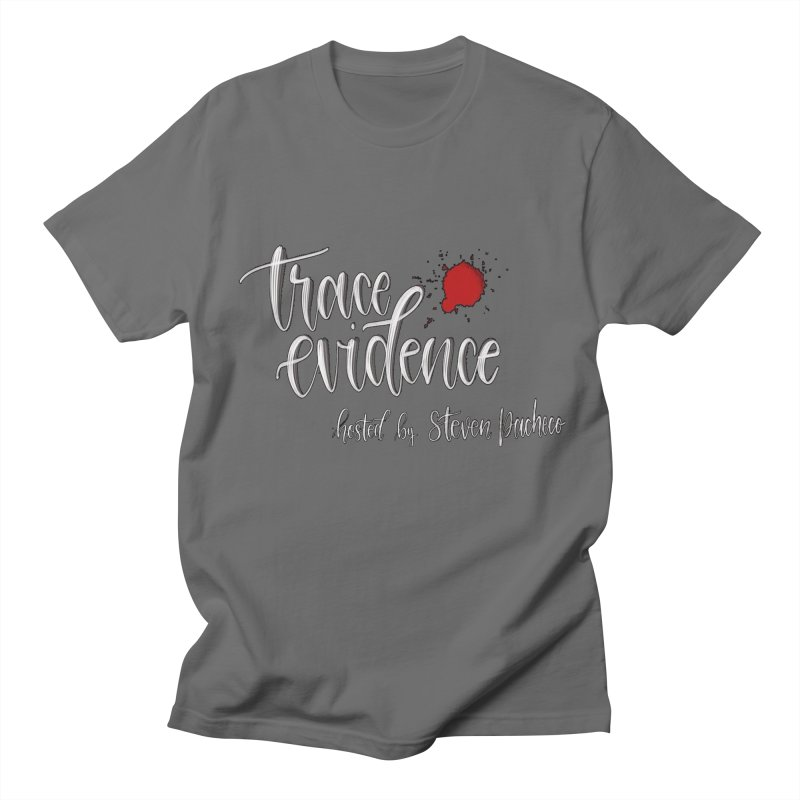 Trace Evidence - Script Men's T-Shirt by Trace Evidence - A True Crime Podcast