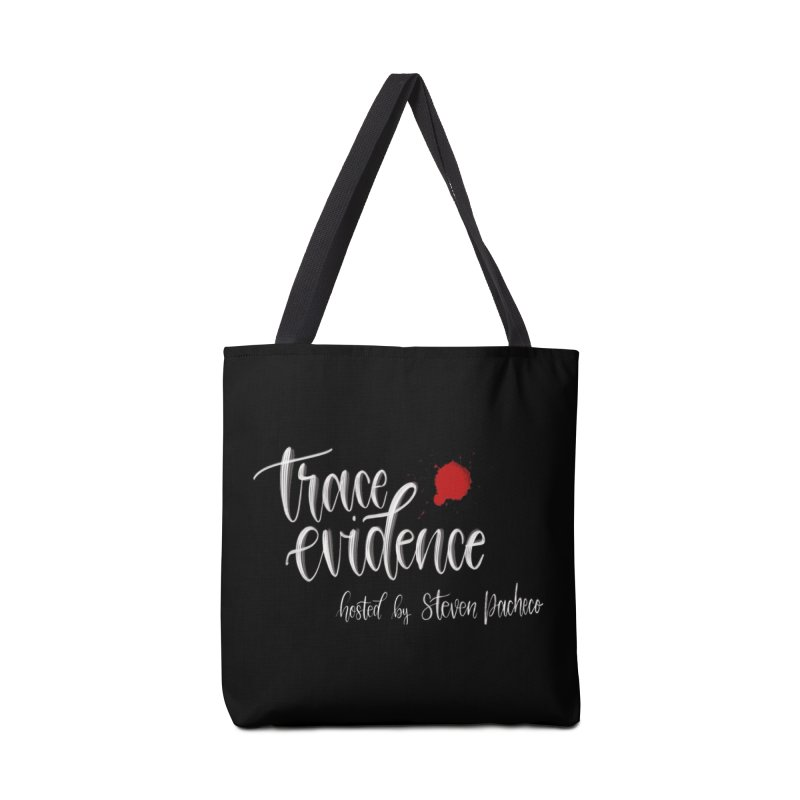 Trace Evidence - Script Accessories Tote Bag Bag by Trace Evidence - A True Crime Podcast