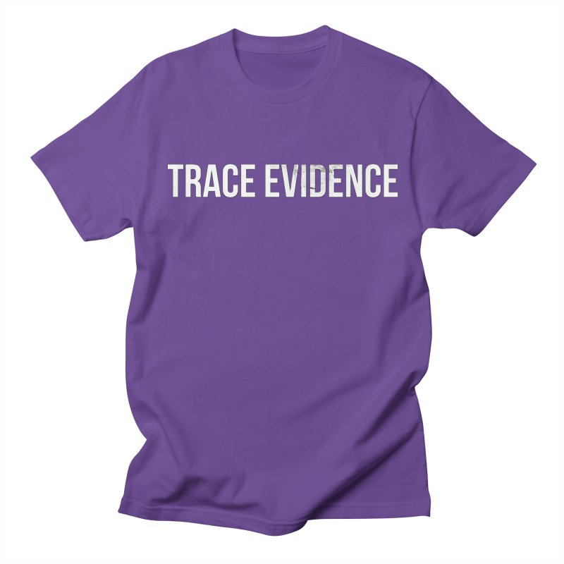 Title Only Men's Regular T-Shirt by Trace Evidence - A True Crime Podcast