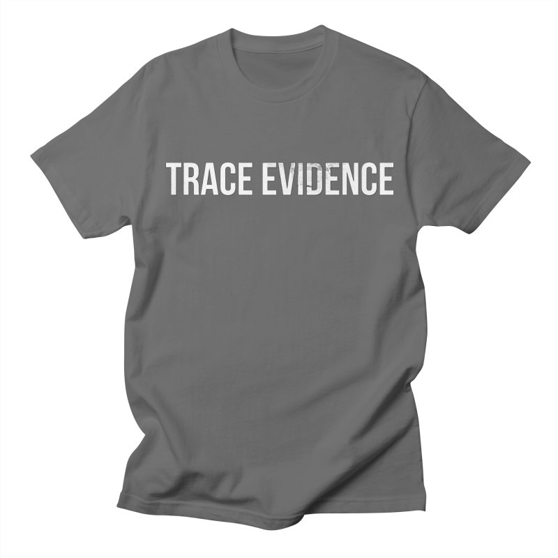 Title Only Men's T-Shirt by Trace Evidence - A True Crime Podcast