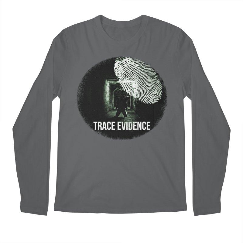 Stressed Logo Men's Regular Longsleeve T-Shirt by Trace Evidence - A True Crime Podcast