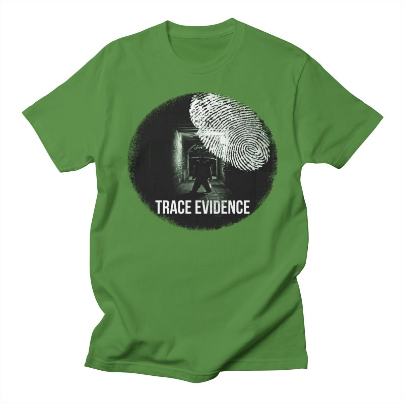 Stressed Logo Women's Regular Unisex T-Shirt by Trace Evidence - A True Crime Podcast